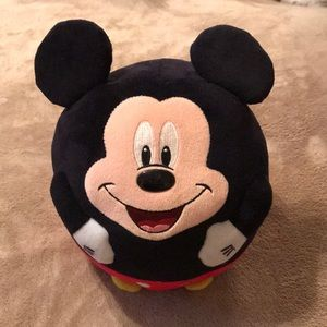 "2013 TY Mickey 8"" round super-cute"